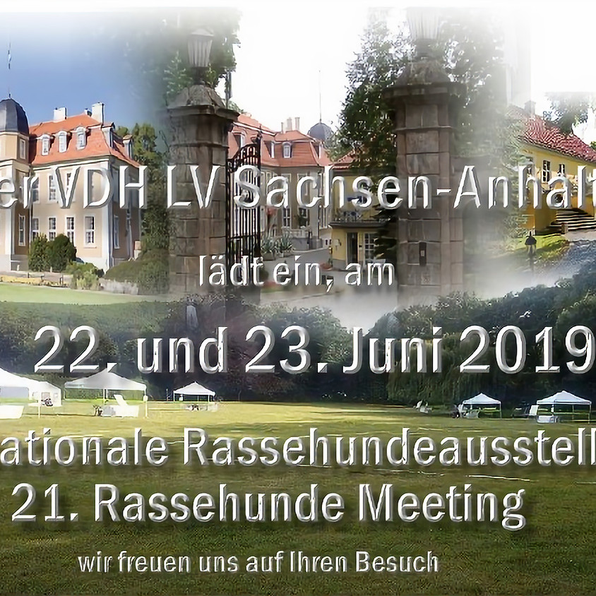 5. Nationale Rassehunde-Ausstellung Schloss Meisdorf 2019