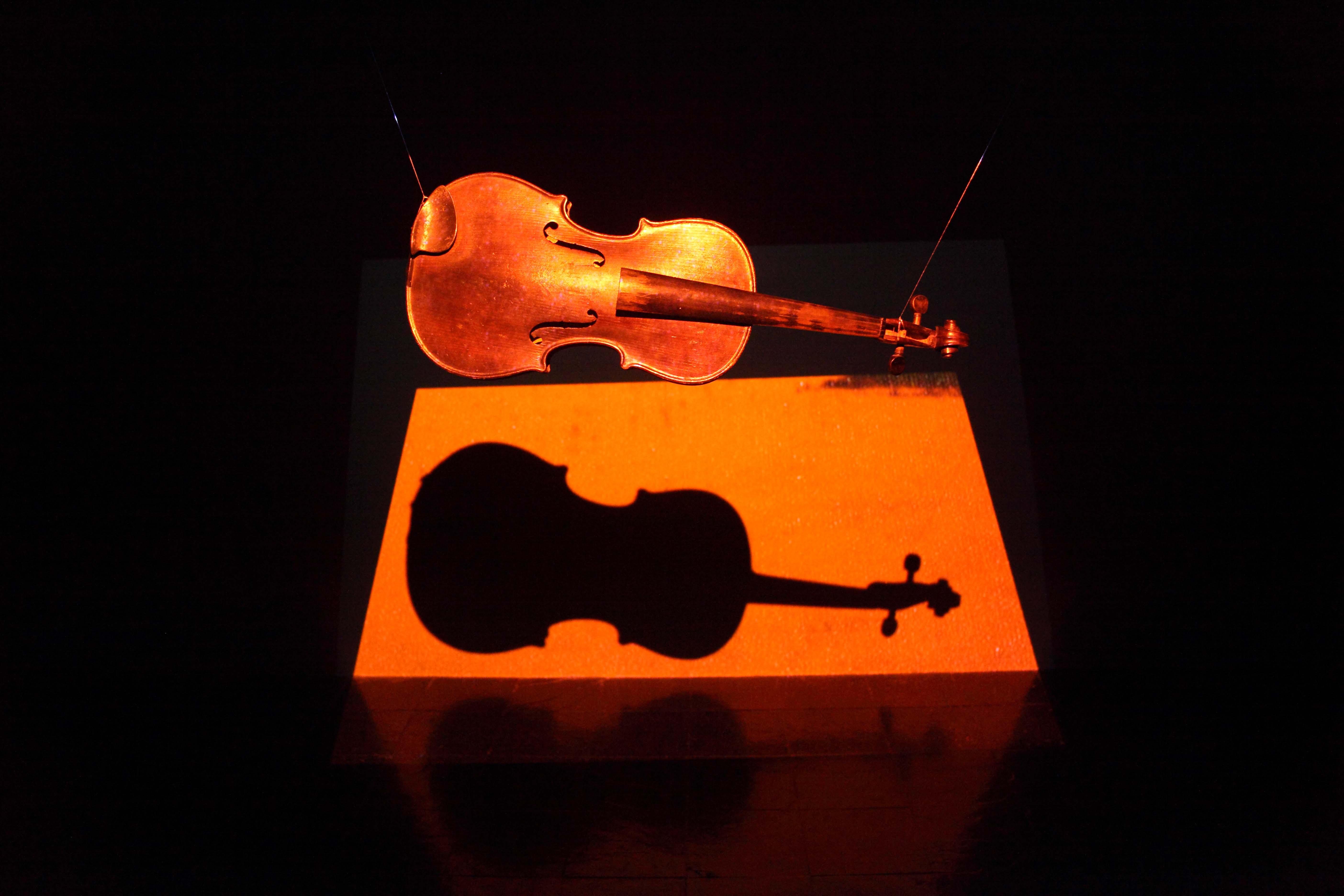 violino projeção