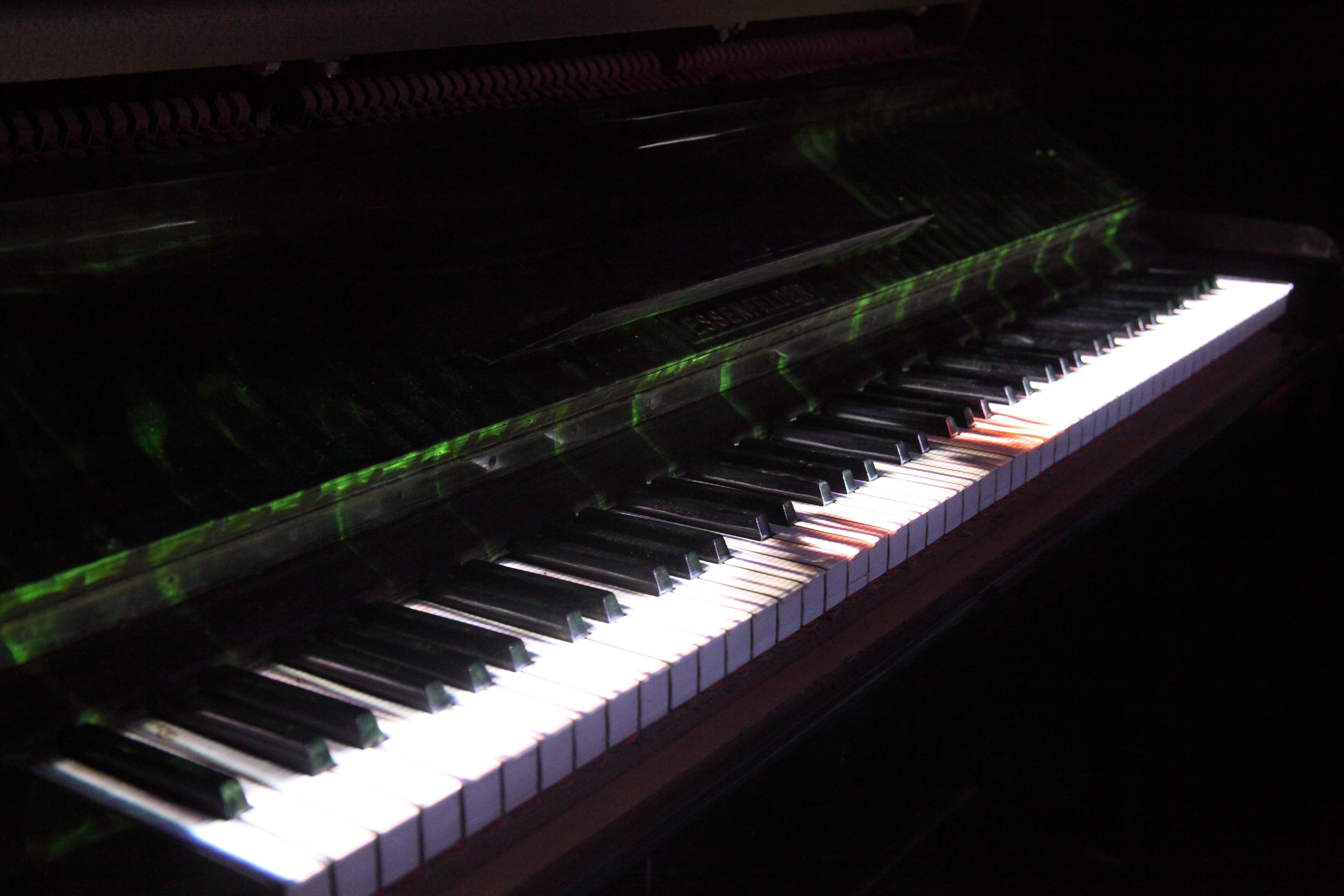 piano projeção
