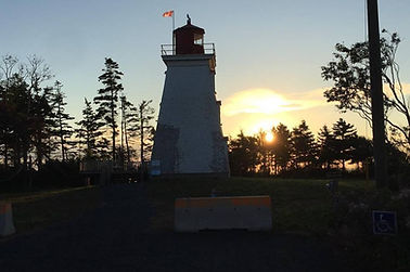 Cape Bear Lighthouse at Sunrise