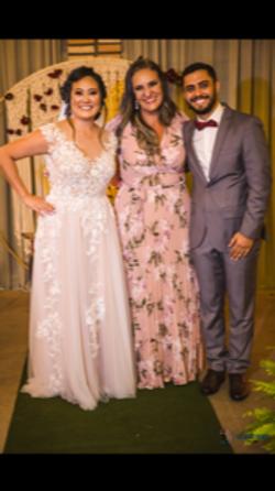 Mestre de Cerimônias casamento Fabiana