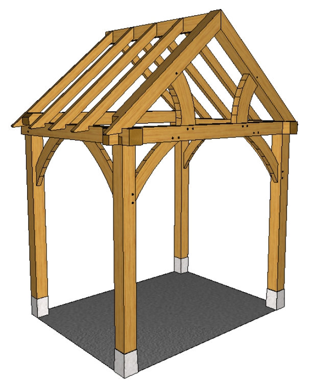 Full height porch