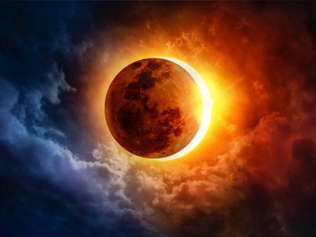 21/6/20 Lua Nova em Câncer e eclipse solar