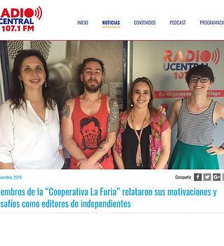 Entrevista Isamel Rivera Radio U Central