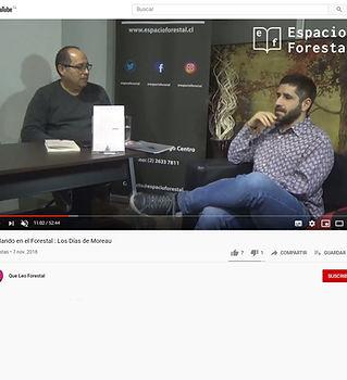 entrevista Espacio Forestal a Nicolas Go