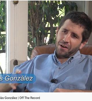 entrevista nicolas gonzalez en off the r