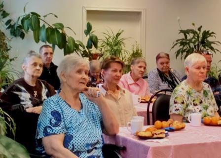 День пожилого человека в рамках проекта Соната