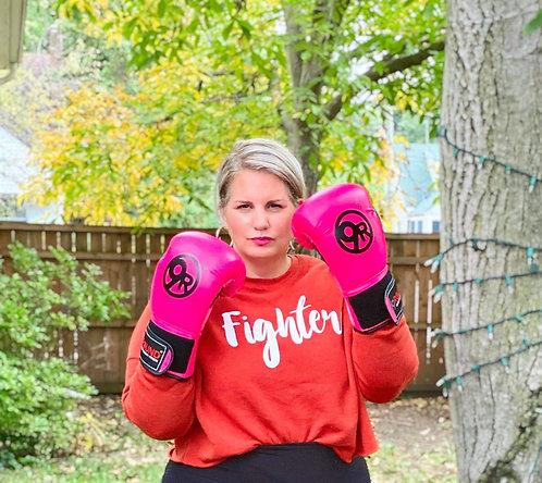 """Fighter"" Cropped Sweatshirt"