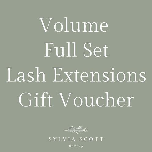 3D-4D Full Set Lash Extensions Gift Voucher