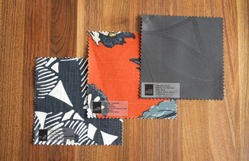 Fabric Shade Swatches