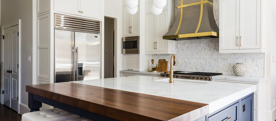 Current Kitchen Design Trends Featuring Crystal Cabinets