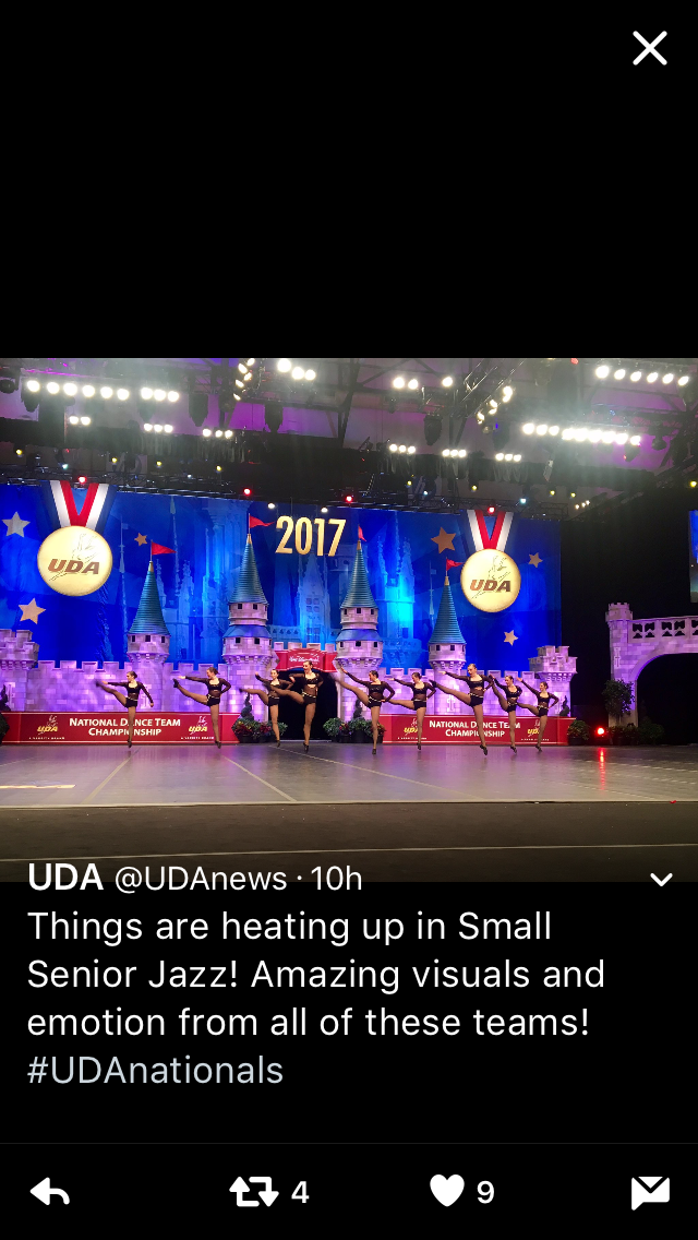 Senior Jazz Nationals 2017