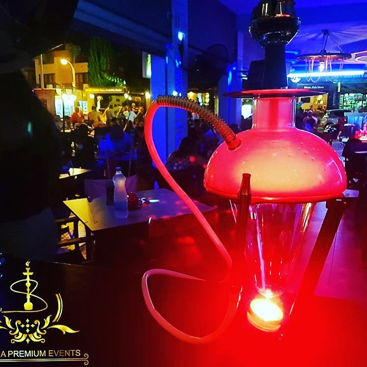 Shisha at Dirty Martini Cyprus