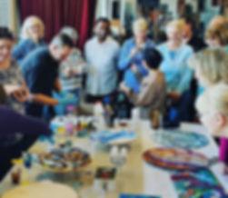 Fantastic resin workshop yesterday! than