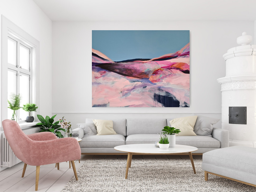 Claire Chandler Dreamscape in situ Wychw