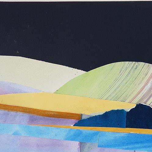 Collage no.4 dark skies