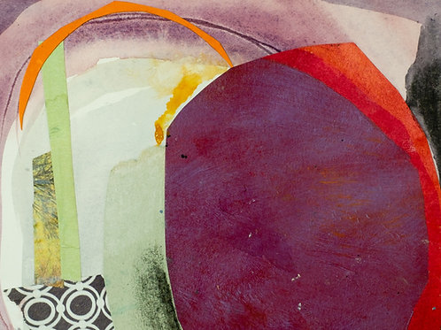 Collage no.9 Study for Over the Hills