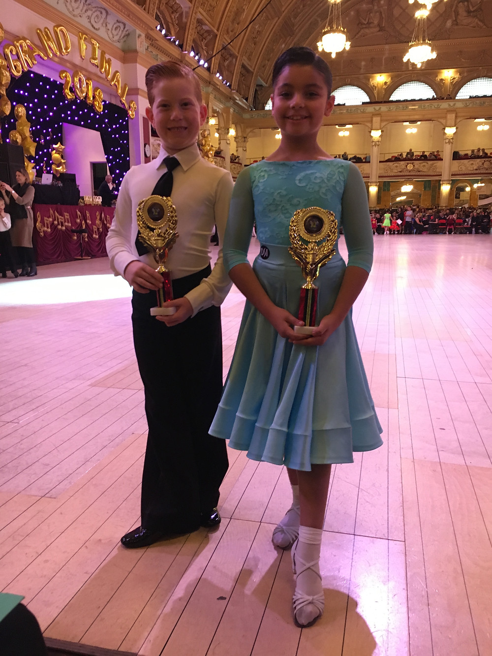 Austin & Maria double winners under 8