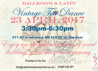 New for April! Vintage Tea Dance