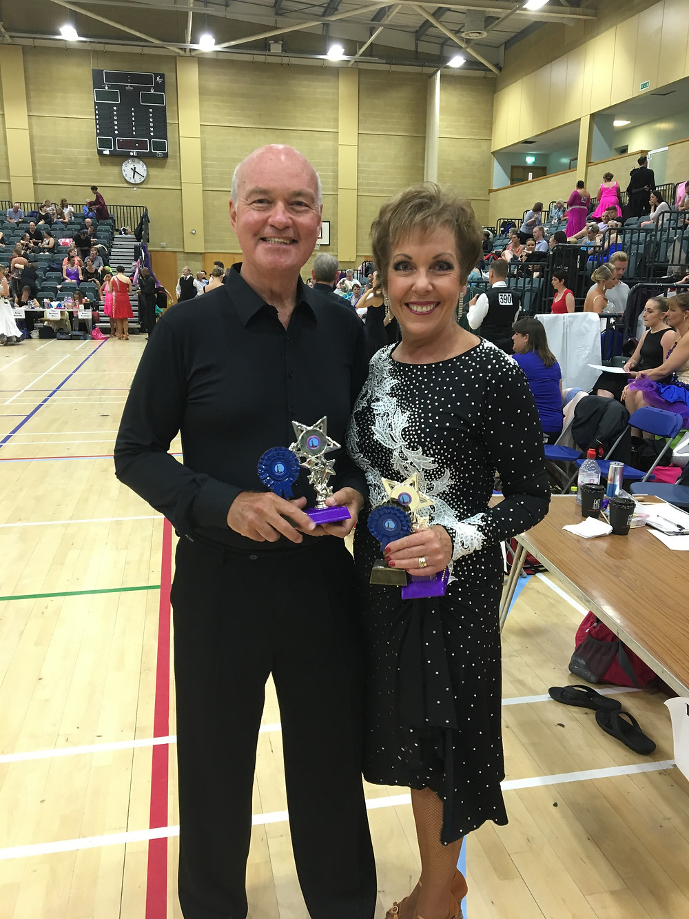 Rod and Jane winning both their couples events.