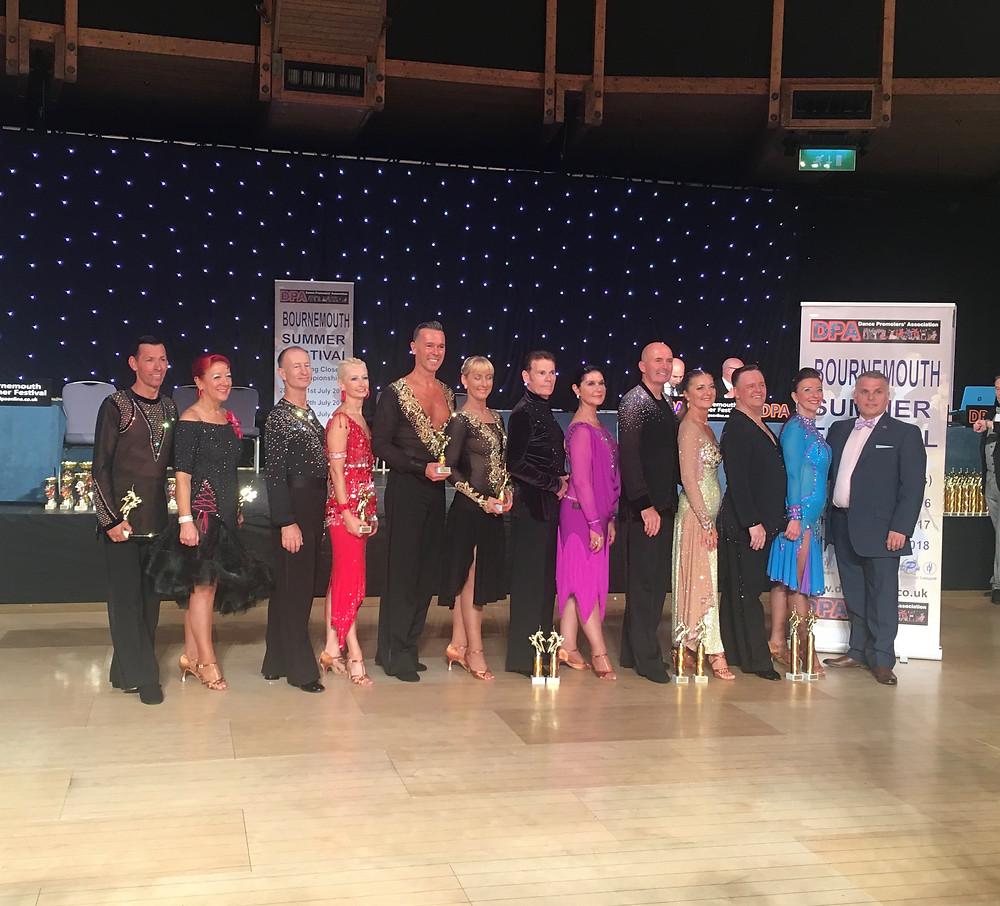 Richard & Maria - O50's UK Closed Latin Champions