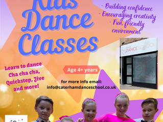 Childrens Ballroom & Latin Dance Classes Return!!