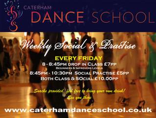 Socials & Drop In Fridays