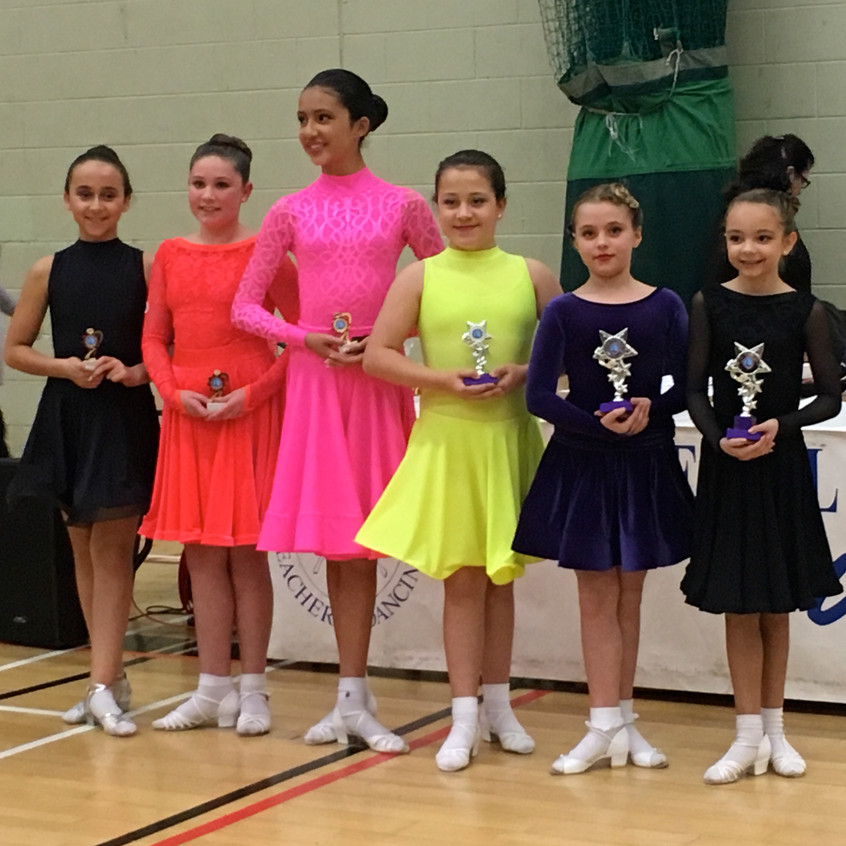 SDT 10/11 years Jive - 5th place
