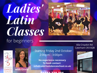 New Ladies Latin Class with Olivia Every Friday!!