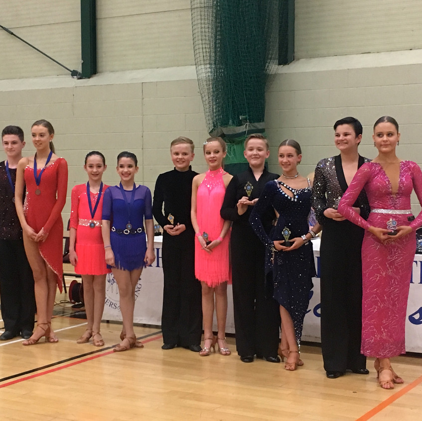 Jnr to Brz Couples Rumba 4th place