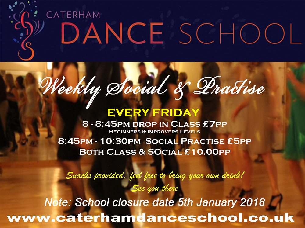 Friday Social & Practise