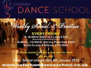 Friday Drop-in Class & Social