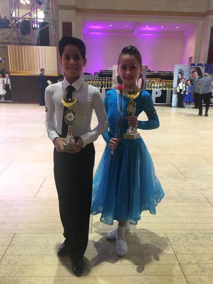 Enrique & Paulina 6th Ballroom only 10 years old