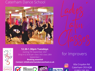 NEW FOR AUTUMN Welcome Back Ladies Latin & Fitness Class NOTE: START DATE 14th SEPTEMBER (not 7th)
