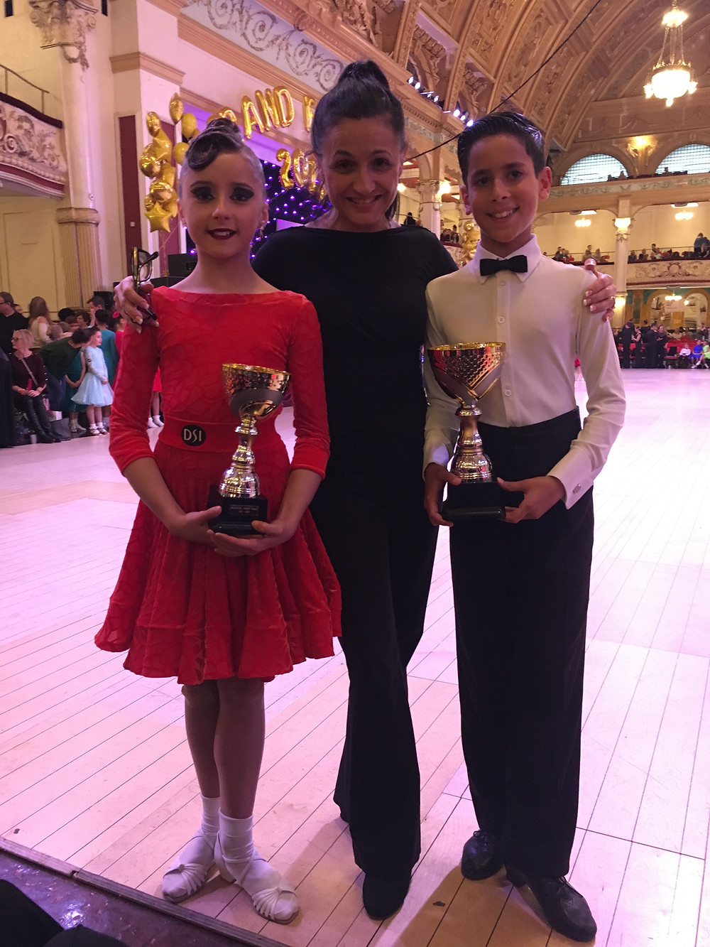 Enrique & Paulina winning Latin couples Silver +