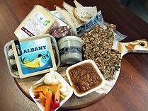 Gourmet food platter