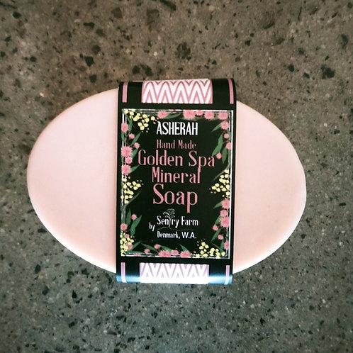 Asherah Golden Mineral Spa Soap