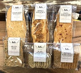 Knutsford Gourmet Handmade Crackers