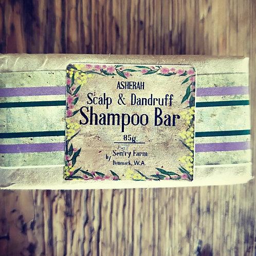Scalp and Dandruff Shampoo Bar - Asherah