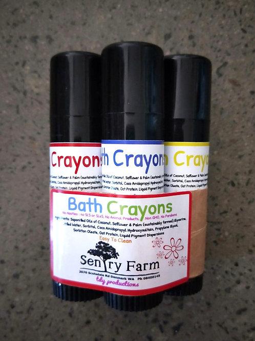 Colourful Bath Crayons