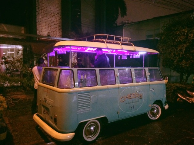 drink truck, bar movel, kombi bar