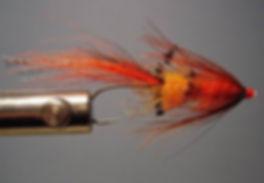 Tube Tippet Shrimp (Orange)