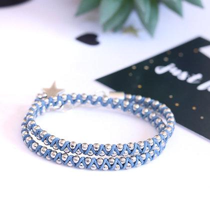 צמיד שילה | כחול כפול