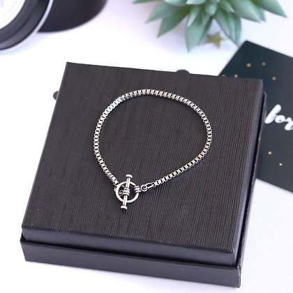 Rotem Brenner Jewelry | רותם ברנר |  צמיד כסף | צמיד עדין |צמיד לאישה