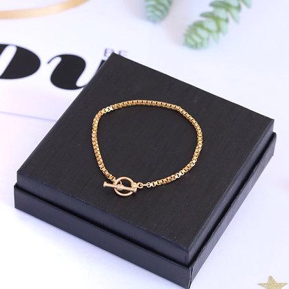 Rotem Brenner Jewelry | רותם ברנר |  צמיד זהב | צמיד עדין |צמיד לאישה
