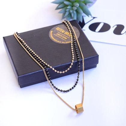 Rotem Brenner Jewelry   רותם ברנר   שרשרת לייזה   שרשרת שכבות