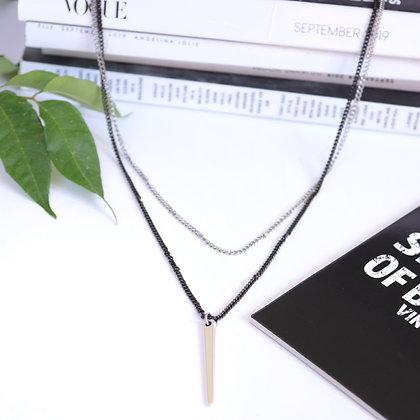 שרשרת שכבות ארוכה מישל | Rotem Brenner Jewelry Design | רותם ברנר