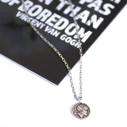 Rotem Brenner Jewelry | רותם ברנר | שרשרת הלני | שרשרת מטבע קצרה