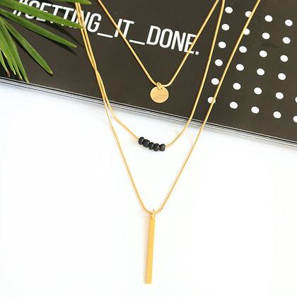 Rotem Brenner Jewelry | רותם ברנר | שרשרת עימנואל | שרשרת ארוכה שכבות