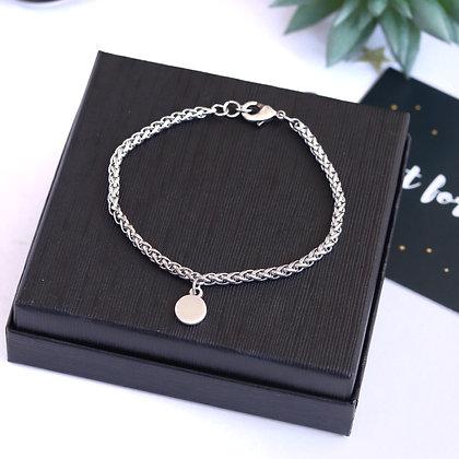 Rotem Brenner Jewelry | רותם ברנר | צמיד גורמט לנשים| צמיד כסף עדין